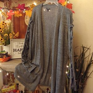 Torrid Cardigan with sleeve accents